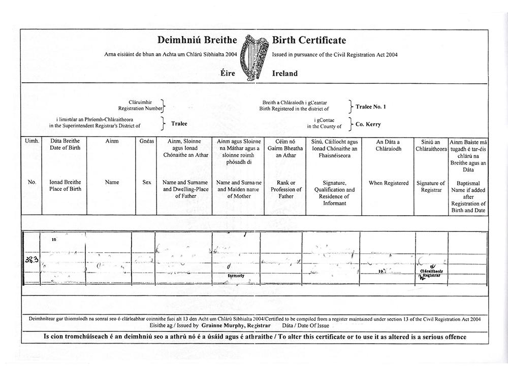 Ireland Wedding Documents Santorini Weddings