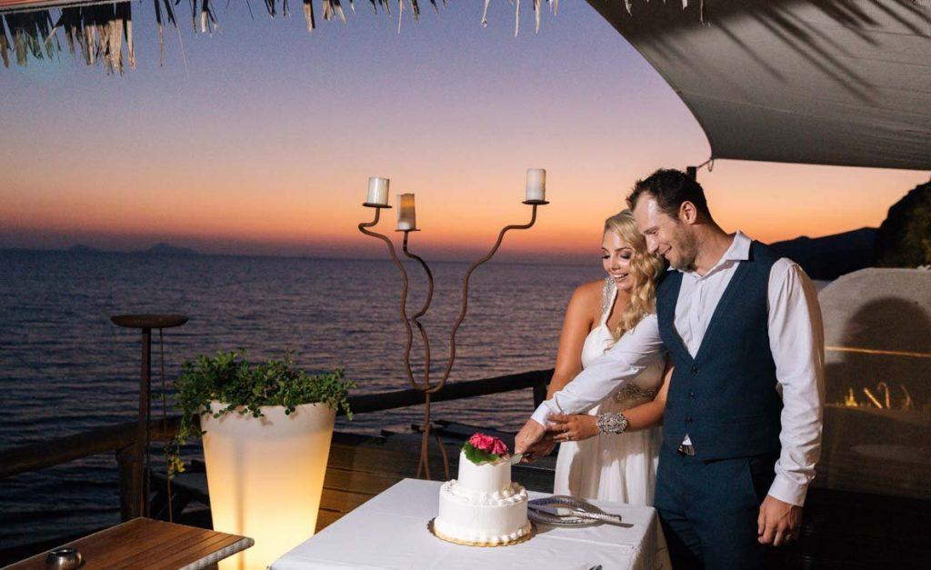 santorini weddings for 2