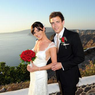 santorini wedding reviews