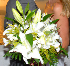 Santorini wedding Bouquets