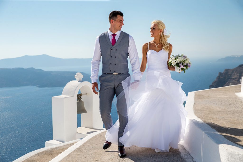 santorini wedding for 2
