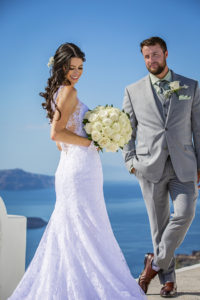 wedding packages santorini