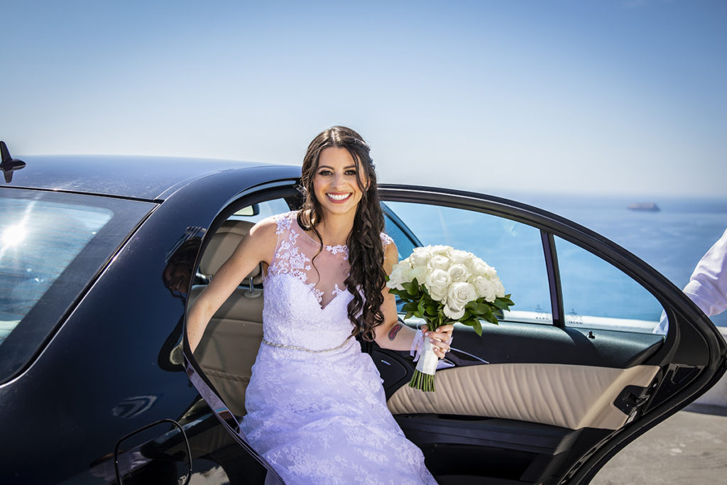 Santorini all inclusive wedding package