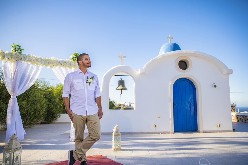 Santorini Cheap Wedding package