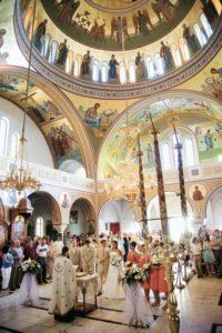 santorini church wedding