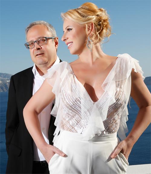 Santorini Vow Renewal