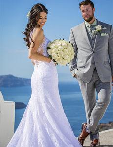 wedding proposal santorini